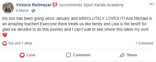 1, Sport Karate Academy in Evansville, IN