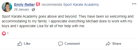 2, Sport Karate Academy in Evansville, IN