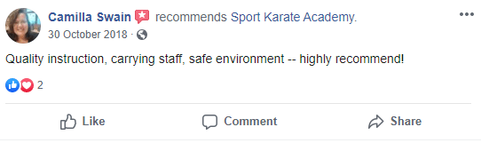 4, Sport Karate Academy in Evansville, IN