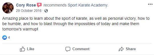 6, Sport Karate Academy in Evansville, IN