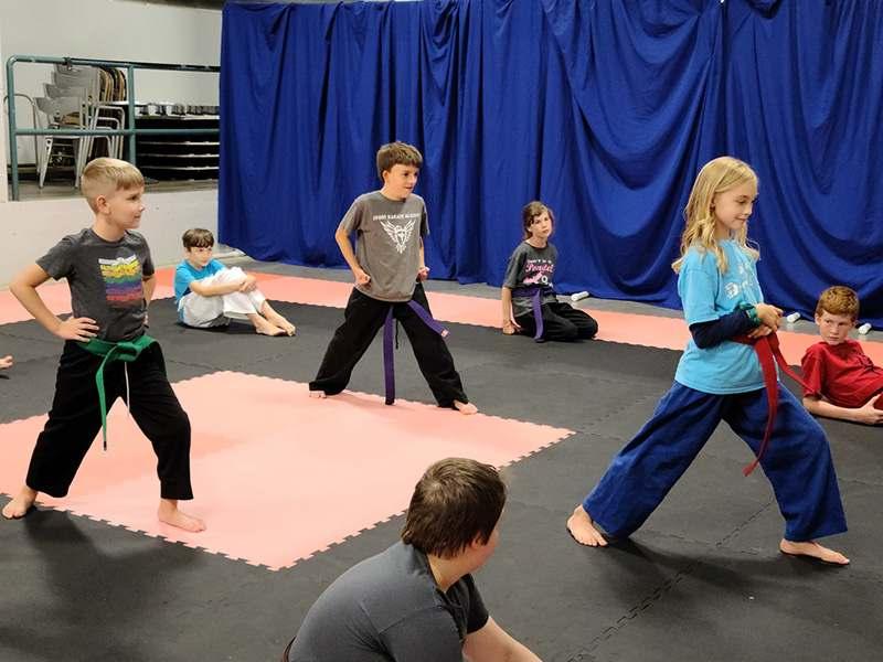 preschool and kids martial arts in evansville